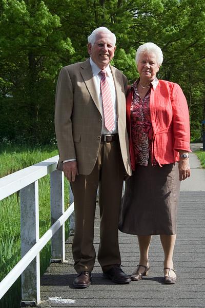 50 Jarig huwelijksfeest Pa en Ma vd Velden