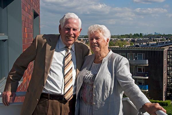 55 jarig huwelijk Pa en Ma vd Velden