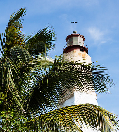 Sanibel Lighthouse, under renovation
