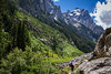 Hiking the Cascade Caynon Trail, Grand Teton National Park