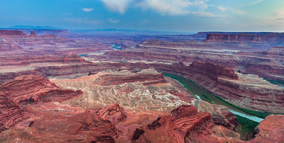 Canyonlands and Colorado River from Dead Horse Point, Utah, No. 1