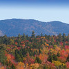 A view of the Fall Foliage from Osceola Outlook along the Kancamagus Highway on October 5, 2014.