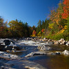 Rocky Gorge along the Kancamagus Highway on October 5, 2014.