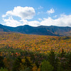 A view from the Kancamagus Pass along the Kancamagus Highway on October 5, 2014.