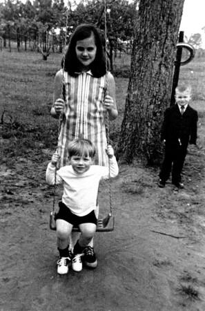 carey and boys swing