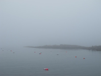 Another Ferry Ride in Fog, June 2011