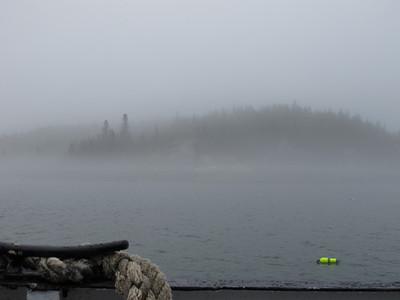Ferry Ride in Fog