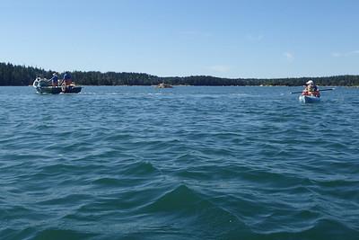 Kayak mit Nina, Ella und Kathrin - July 2018