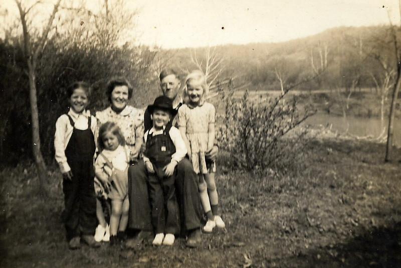 Frank, Nellie, William, June, Gene