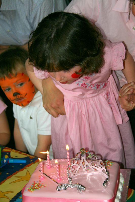 blow all the candles out...
