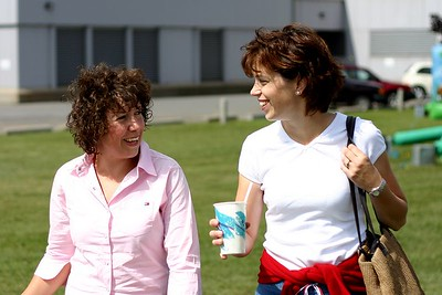 Alison and her friend Michelle (Conor's Mum)