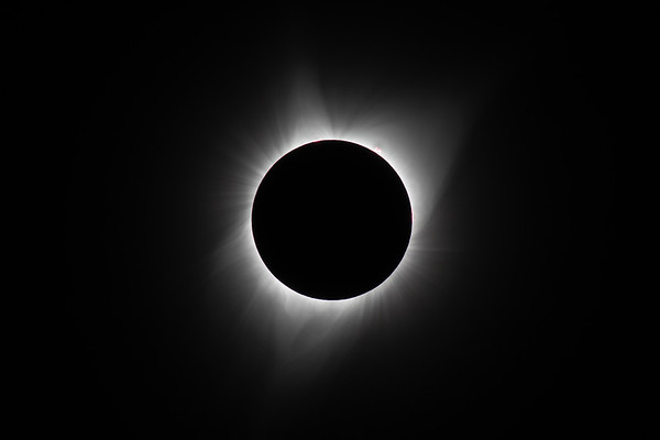 Eclipse in Totality - Salem, Oregon August 21st, 2017