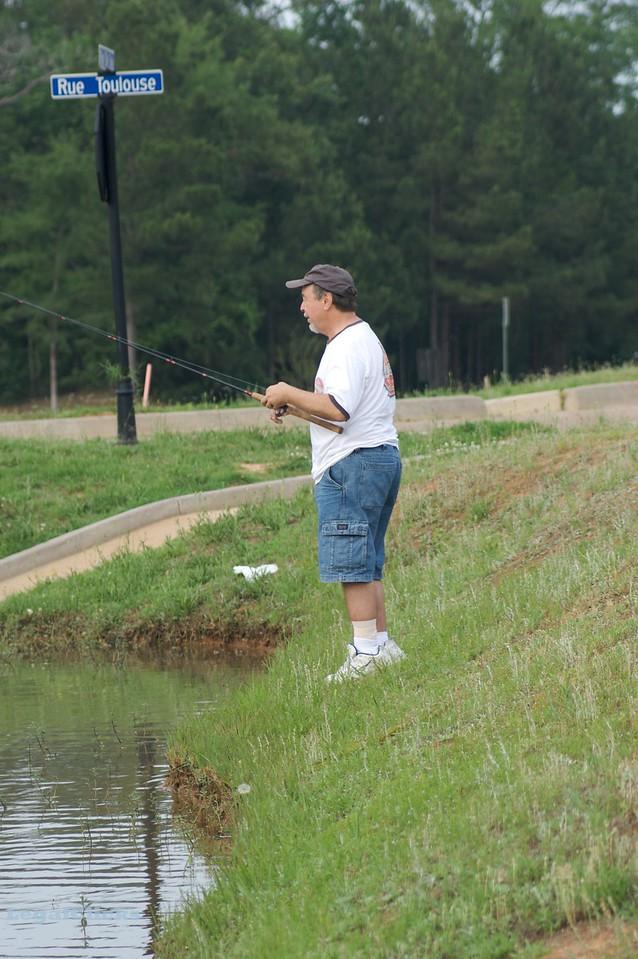 Weldon Fishin' at the Neighborhood Lake