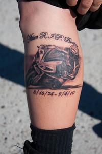 Adam Komura's new tattoo.  It says it all.