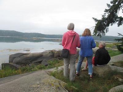 Uschi und Heide Besuch, August 2012