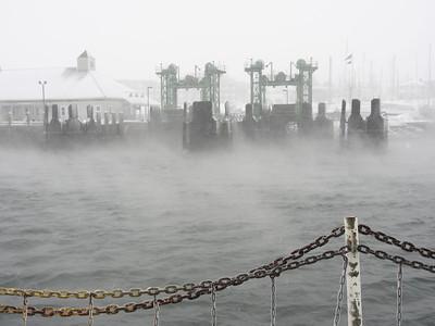Sea Smoke - January 2014