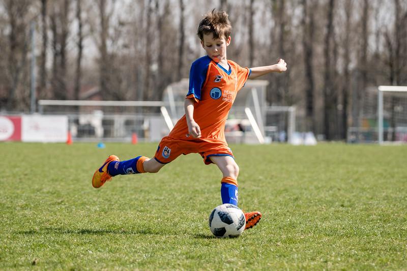 Fußballmatch Emil April 18