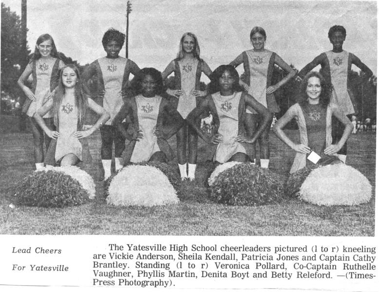 1972-73 cheerleadersYatesv