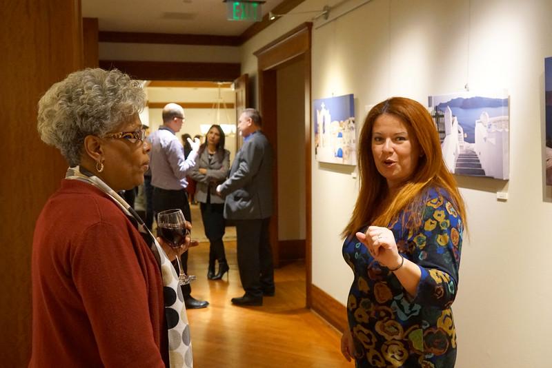 Blue, Burrison Gallery,  November 2018
