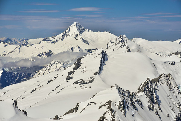 Mount Aspiring from Mt Lydia