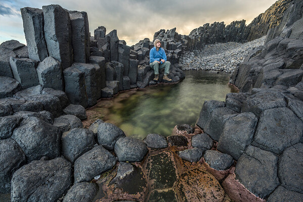 The Roman Baths, Black Head, Dunedin