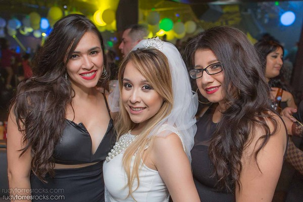 Jeanette's Bachelorette Partybus at Lure, Hollywood 4.25.2015