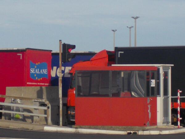 Camions à Calais