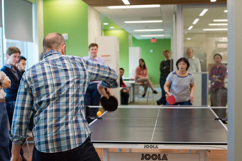 Ping Pong tournament.