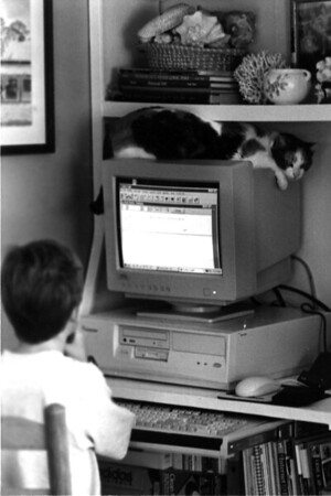 first computer kg and itty bitty copy