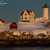 "Cape Neddick Lighthouse ""Nubble Light"" - York, Maine - February 16, 2014"