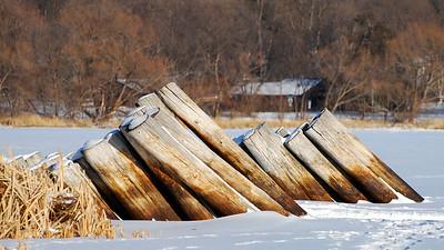 Medicine Lake, Boat Dock ©JLCramerPhotography 2009