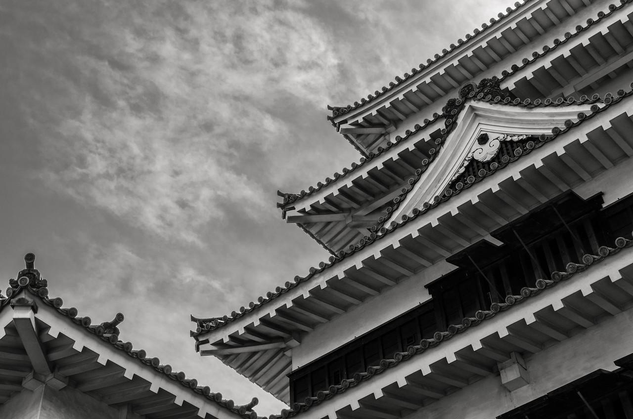 Matsumoto Castle in Monochrome