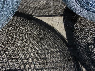 shadows of garagir (fish traps)