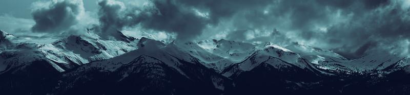 Misty Winter Mountains