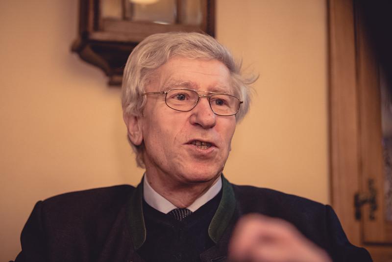 Opa Fritz wird 75