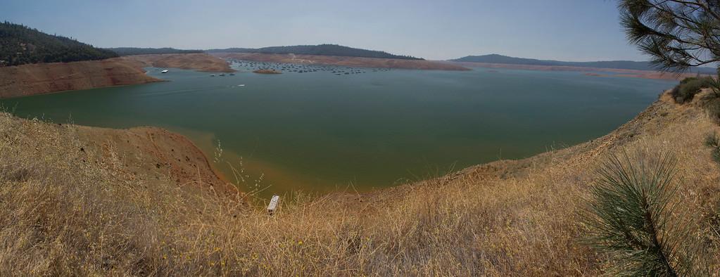 Lake Oroville July 26, 2015 - 4380