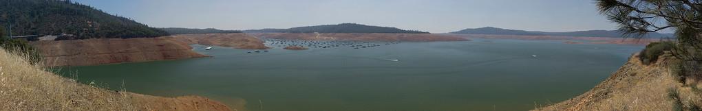 Lake Oroville July 26, 2015 - 4409