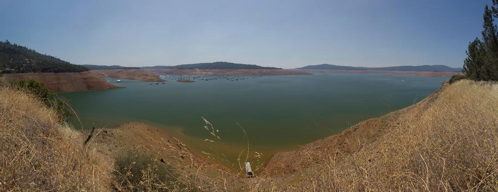 Lake Oroville July 26, 2015 - 4370