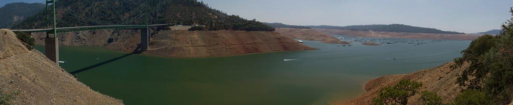 Lake Oroville July 26, 2015 - 4343