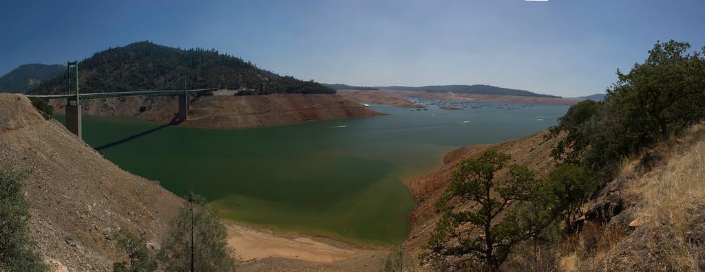Lake Oroville July 26, 2015 - 4310