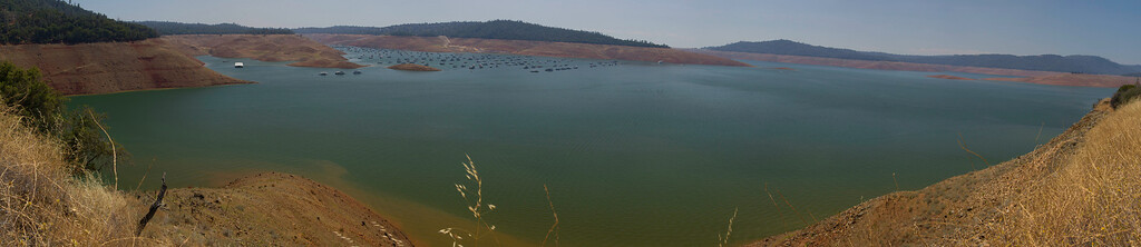 Lake Oroville July 26, 2015 - 4440