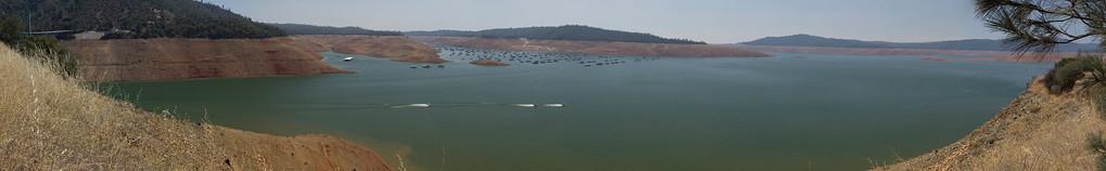 Lake Oroville July 26, 2015 - 4395