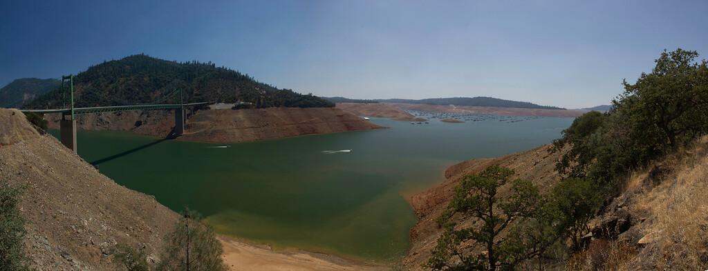 Lake Oroville July 26, 2015 - 4300