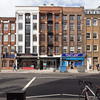 Southwark Street, London, Bankside, Frank's Cafe, building facade