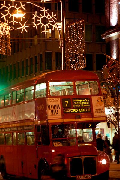 London Bus Oxford Street