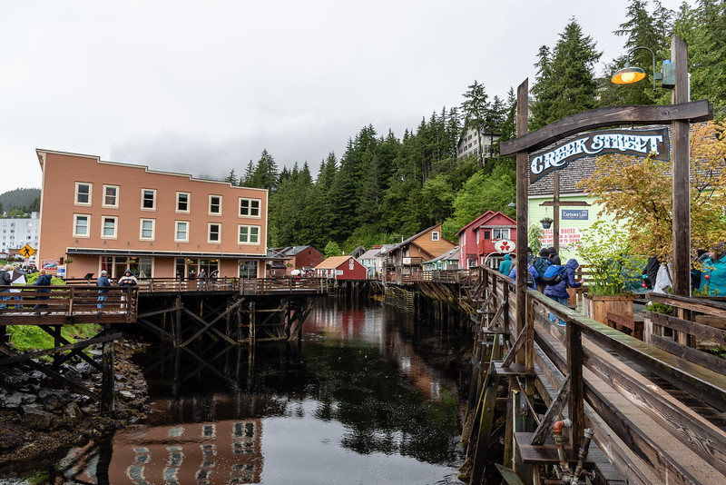 Along Creek Street, Ketchikan, Alaska
