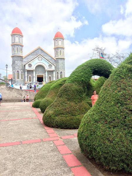 Church of San Rafael and Topiary Garden - located in Zarcero