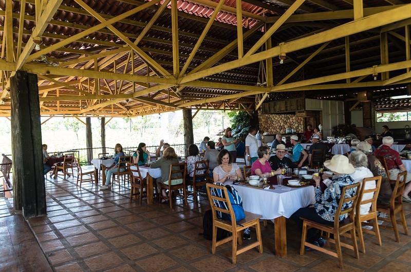 Lunch at Doka Coffee plantation
