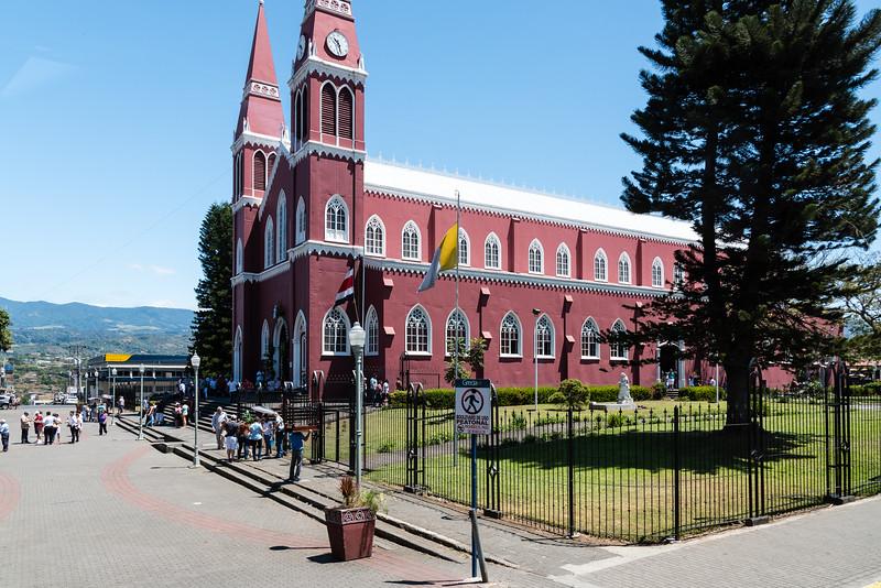 A metal church near San Jose