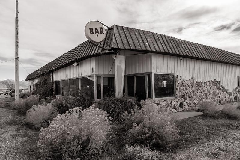 Tumbleweeds and bar